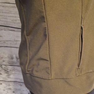 Nike Jackets & Coats - NIKE ZIPPERED TRACK JACKET/ARMY GREEN